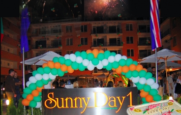 Grand opening of Sunny Day 1